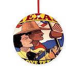 J'aime Texas Ornament (Round)