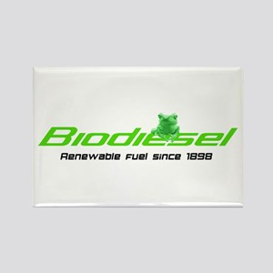 "Biodiesel ""Renewable Fuel"" Rectangle Magnet"