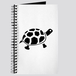 Black and white Turtle Journal
