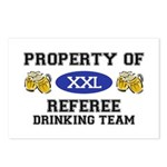 Property of Referee Drinking Team Postcards (Packa