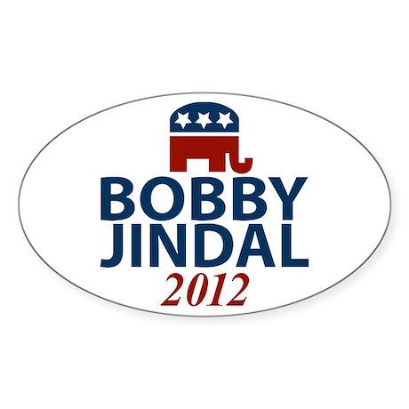 Bobby Jindal GOP Oval Sticker