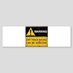 Dirt Track Racing (Bumper) Sticker (Bumper) Sticke
