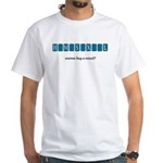 Wanna Buy a Vowel? White T-Shirt