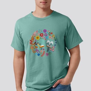 Sloth with flowers T-Shirt