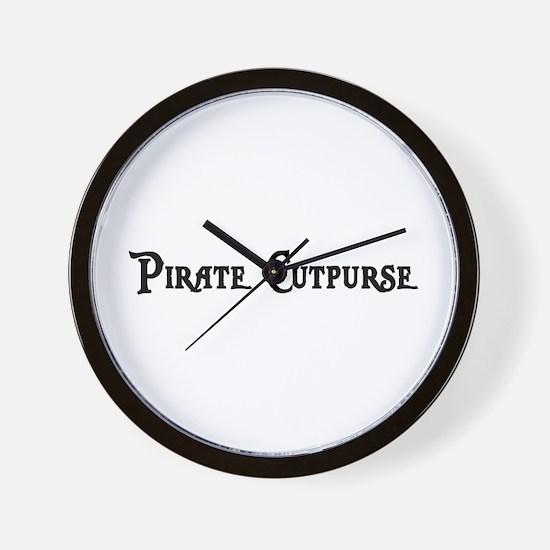 Pirate Cutpurse Wall Clock