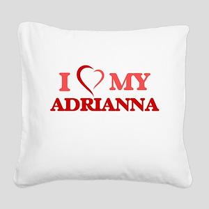 I love my Adrianna Square Canvas Pillow