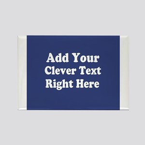 Add Text Background Blue s Magnets