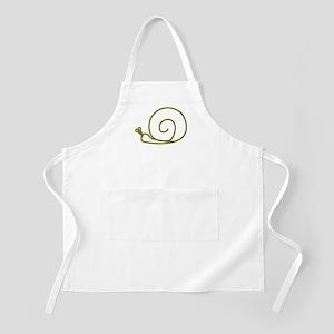 Green Snail BBQ Apron