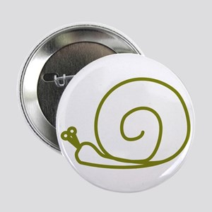 "Green Snail 2.25"" Button"