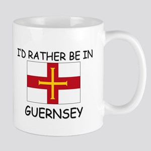 I'd rather be in Guernsey Mug