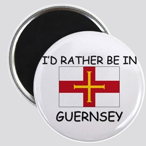 I'd rather be in Guernsey Magnet