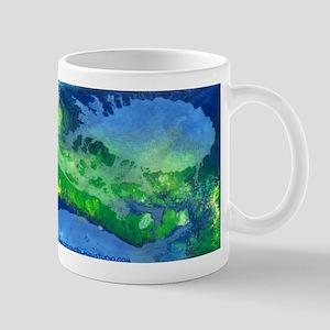 Blue Fish Inspirational 11 oz Ceramic Mug