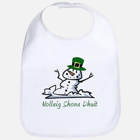 Irish Merry Christmas Bib