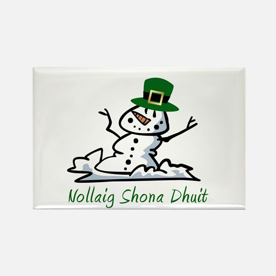 Irish Merry Christmas Rectangle Magnet