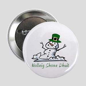 "Irish Merry Christmas 2.25"" Button"