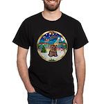 XmasMusic 3/Yorkie #11 Dark T-Shirt