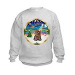 XmasMusic 3/Yorkie #11 Kids Sweatshirt