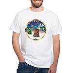 XmasMusic 3/Yorkie #11 White T-Shirt