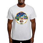 XmasMusic 3/Yorkie #2 Light T-Shirt