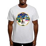XmasMusic 3/ St Bernard #1 Light T-Shirt