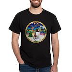 XmasMusic 3/ St Bernard #1 Dark T-Shirt