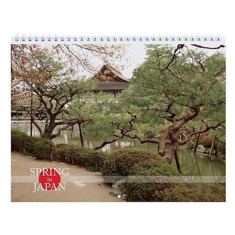 Spring in Japan Photo Wall Calendar
