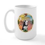 XmasMusic 3/Sib Husky Large Mug