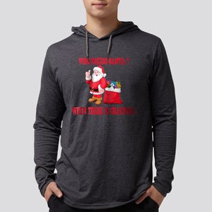 Grandma Santa Long Sleeve T-Shirt