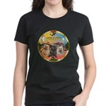 XmasMusic 3/3 Cairns Women's Dark T-Shirt