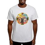 XmasMusic 3/3 Cairns Light T-Shirt