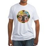 XmasMusic 3/3 Cairns Fitted T-Shirt