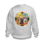 XmasMusic 3/3 Cairns Kids Sweatshirt