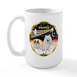 XmasDove/Am Eskimo Large Mug