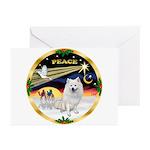 XmasDove/Am Eskimo Greeting Cards (Pk of 10)