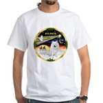 XmasDove/Am Eskimo White T-Shirt