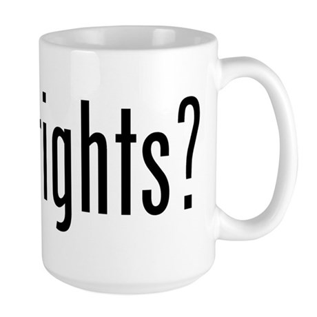 got rights? Large Mug