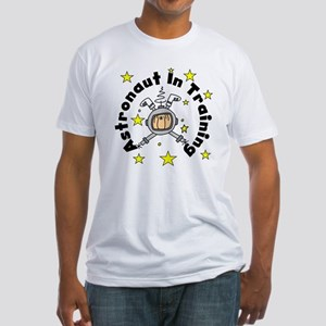 Astronaut in Training Fitted T-Shirt