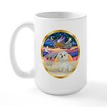 XmasStar/ Maltese # 11 Large Mug