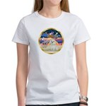 XmasStar/ Maltese # 11 Women's T-Shirt