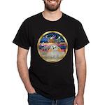 XmasStar/ Maltese # 11 Dark T-Shirt