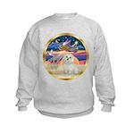 XmasStar/ Maltese # 11 Kids Sweatshirt