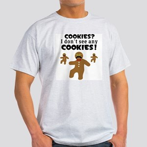 Gingerbread Man Disguise Light T-Shirt