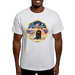 XmasStar/Dachshund LH Light T-Shirt