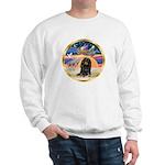 XmasStar/Dachshund LH Sweatshirt