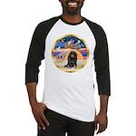 XmasStar/Dachshund LH Baseball Jersey