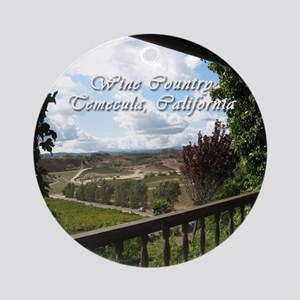 Temecula California Wine Country Ornament (Round)