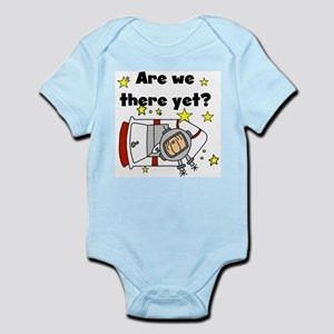 There Yet Astronaut Infant Bodysuit