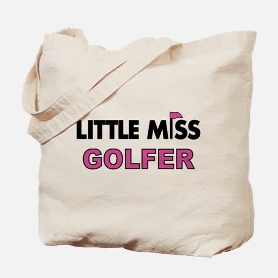 Little Miss Golfer - Tote Bag