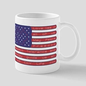 Obama Whitehouse USA heart FL Mug