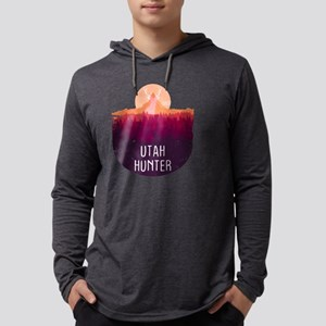Utah Deer Hunter T-Shirt, Deer Long Sleeve T-Shirt